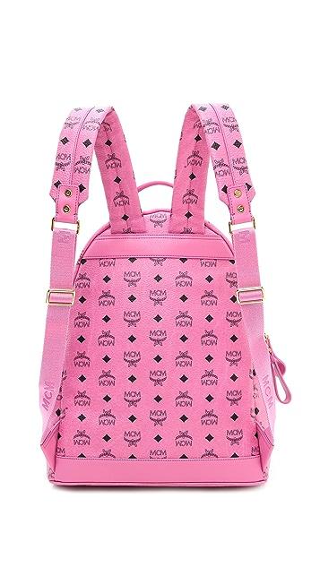 MCM Stark Sprinkle Stud Medium Backpack