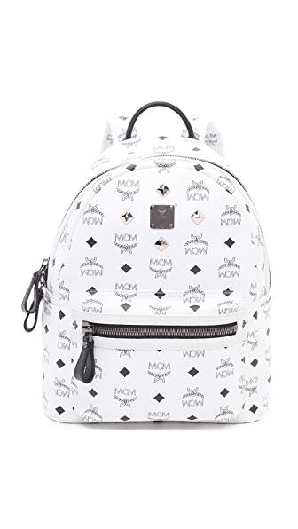 MCM Stark Sprinkle Stud Small Backpack