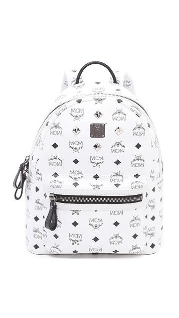MCM Stark Sprinkle Stud Small Backpack
