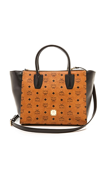 MCM Two Zip Tote