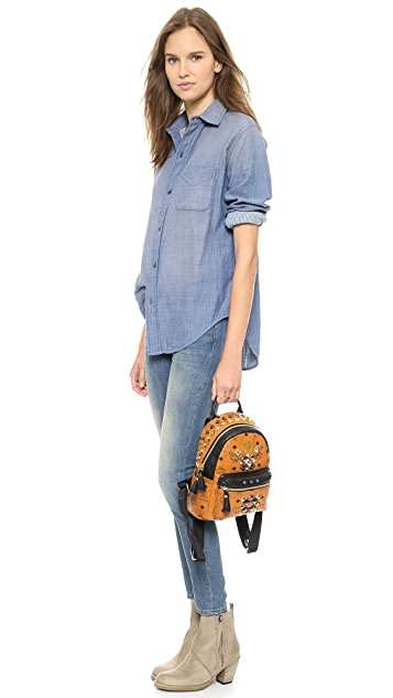 MCM Mini Backpack