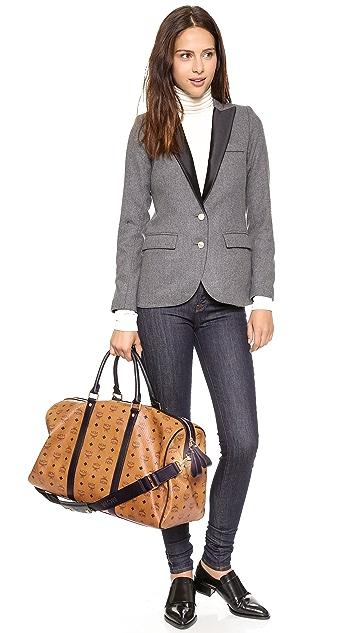 MCM Large Weekender Bag