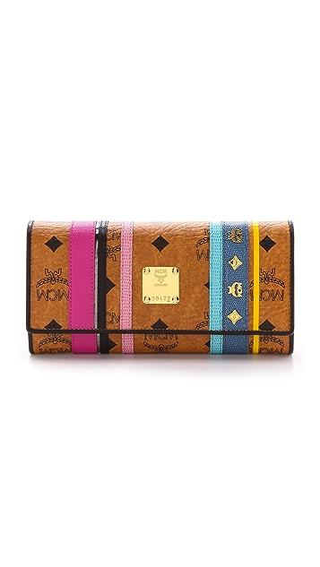 MCM 3 Fold Wallet