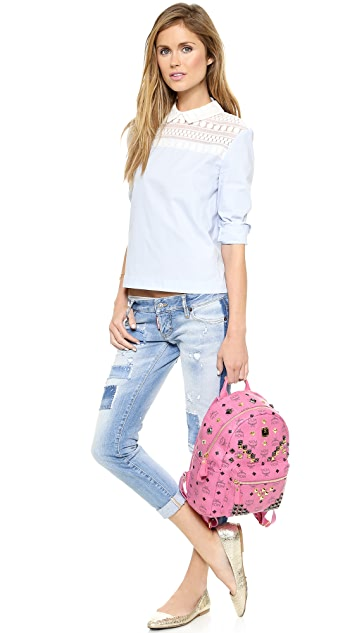 MCM Stark Small Backpack