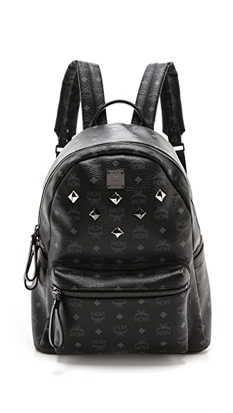MCM Stark Medium Sprinkle Stud Backpack