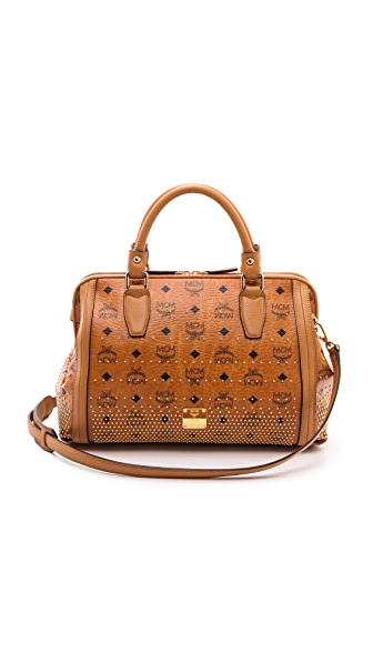 MCM Medium Boston Bag