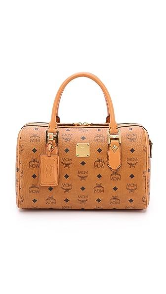MCM Medium Boston Bag