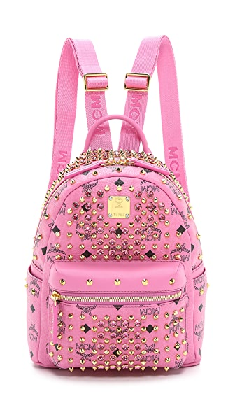 MCM Mini Crystal Stud Backpack | 15% off first app purchase with ...