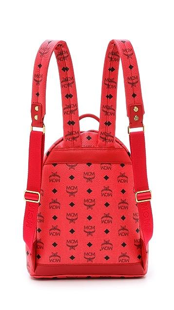 MCM Small Stark Studded Backpack