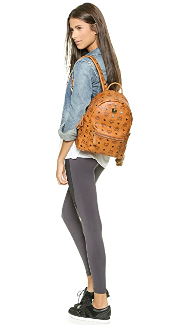 MCM Stark Small Sprinkle Stud Backpack
