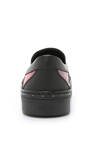 MCM Slip On Sneakers
