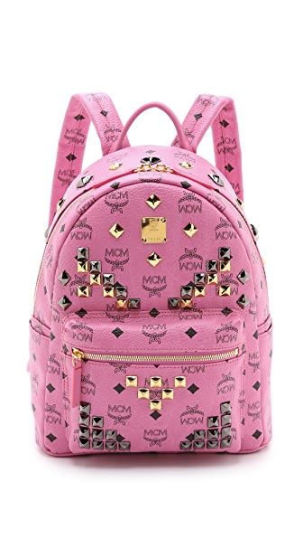MCM M Stud Small Stark Backpack