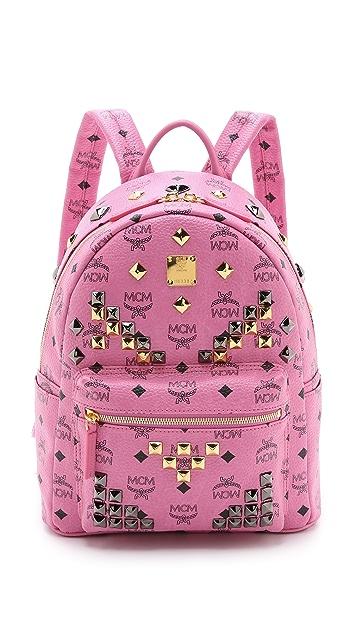 MCM M Stud Small Stark Backpack