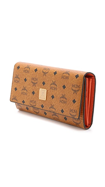 MCM Large Trifold Wallet