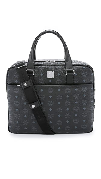 MCM Color Visetos Briefcase