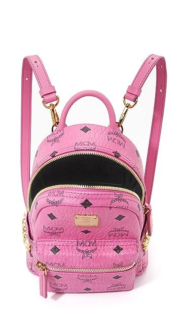 MCM Side Stud Baby Backpack
