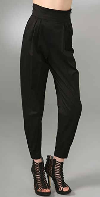 McQ - Alexander McQueen Stretch Cotton Sateen Pants