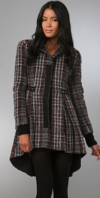 McQ - Alexander McQueen Plaid Coat