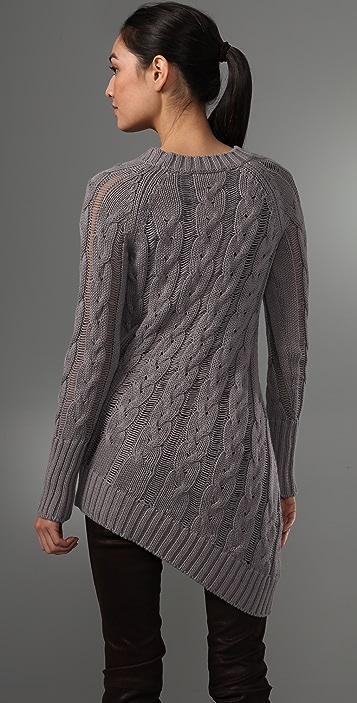 McQ - Alexander McQueen Asymmetrical Sweater