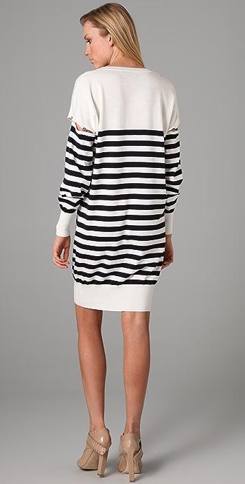 McQ - Alexander McQueen Stripe Sweater Dress