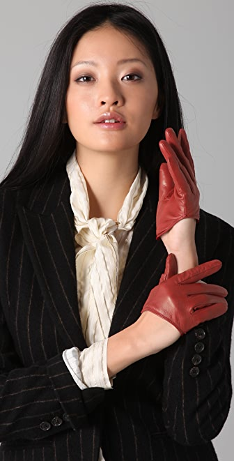 McQ - Alexander McQueen Leather Gloves