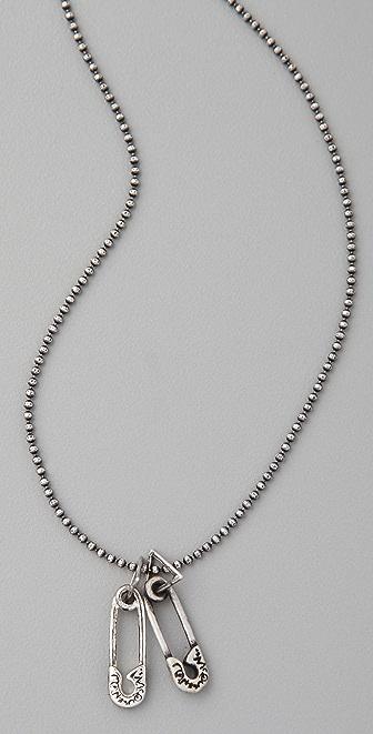 McQ - Alexander McQueen Safety Pin Necklace