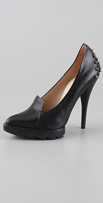 McQ - Alexander McQueen High Heel Lip Pumps