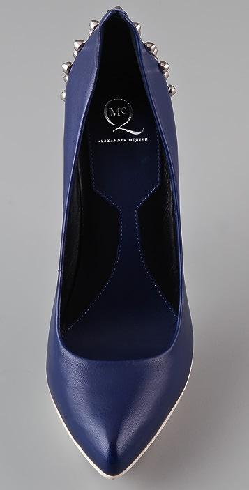 McQ - Alexander McQueen Studded Pumps