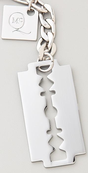 McQ - Alexander McQueen Large Razor Blade Key Ring