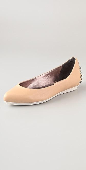 McQ - Alexander McQueen Studded Ballet Flats