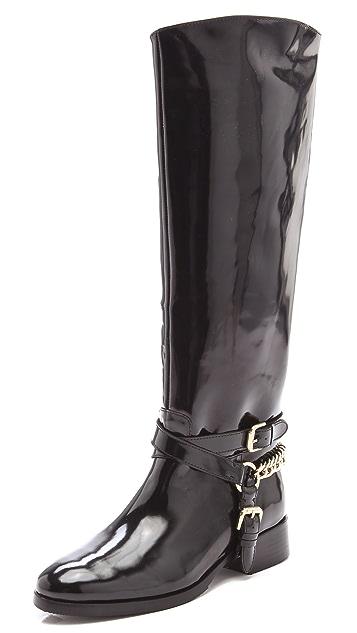 McQ - Alexander McQueen Chain Riding Boots