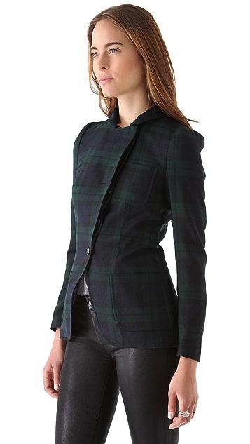 McQ - Alexander McQueen Tailored Plaid Blazer