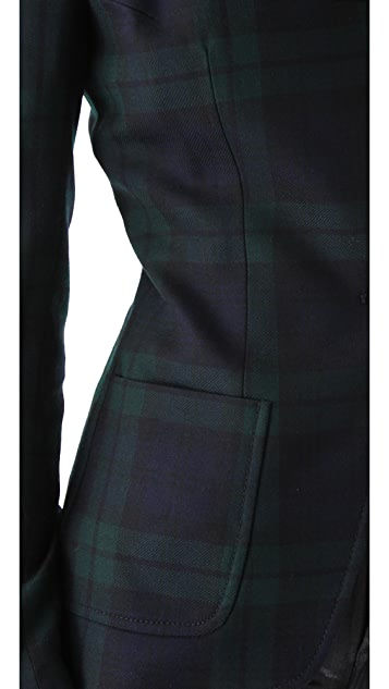 McQ - Alexander McQueen Tailored Plaid Blazer