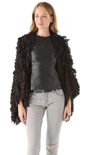 McQ - Alexander McQueen Loop Stitch Sweater Coat