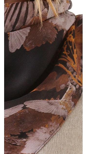 McQ - Alexander McQueen Bird Garden Scarf