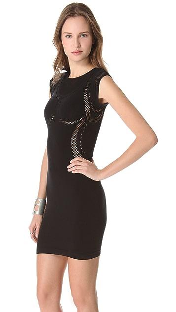 McQ - Alexander McQueen Mesh Dress