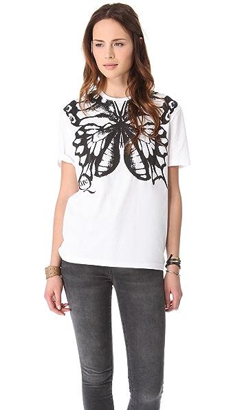 McQ - Alexander McQueen Butterfly Tee