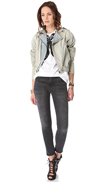 McQ - Alexander McQueen Advanced Biker Jacket
