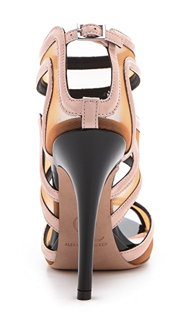 McQ - Alexander McQueen Bombe Sandals