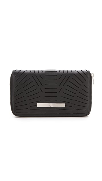 McQ - Alexander McQueen Slash Zip Around Wallet