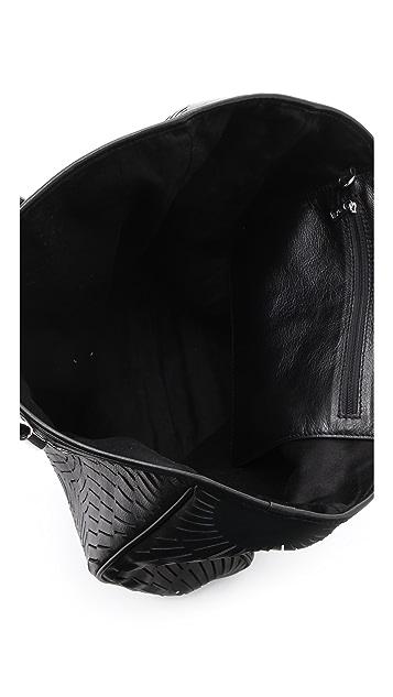 McQ - Alexander McQueen Slash Leather Shopper Tote