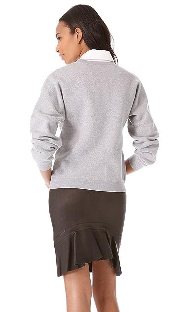McQ - Alexander McQueen Varsity Sweatshirt
