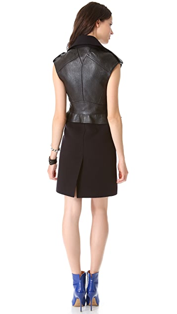 McQ - Alexander McQueen Biker Dress