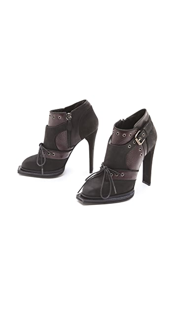 McQ - Alexander McQueen High Heel Military Booties