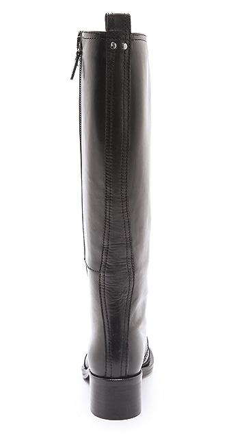 McQ - Alexander McQueen Tall Biker Boots