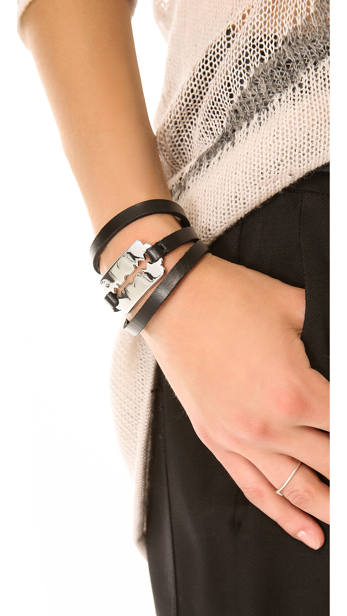 what triple wakami retailers beige wrap beigesilver is product life bracelet