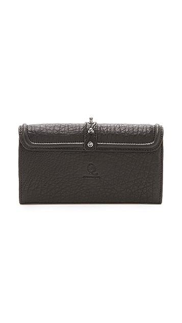 McQ - Alexander McQueen Studded Flap Wallet