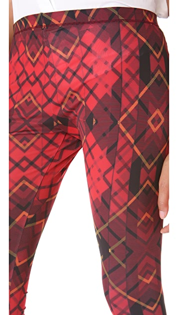 McQ - Alexander McQueen Tartan Leggings