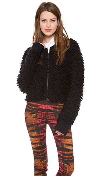 McQ - Alexander McQueen Loop Knit Jacket