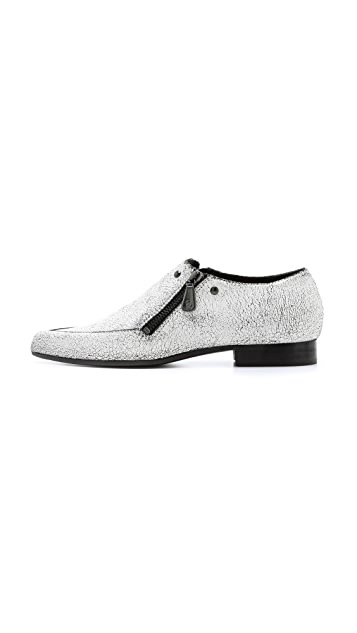McQ - Alexander McQueen Double Zip Loafers